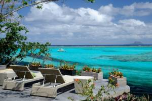 The private 800 acre island of Vatuvara is adults-only and access is via the resort's private plane.