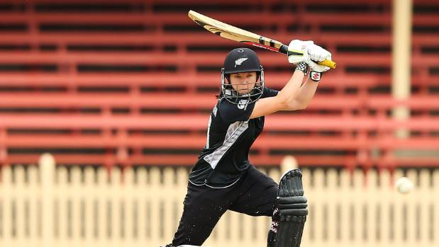 Although selected for her spin bowling, Erin Bermingham provides a good batting option at the depth of an innings.