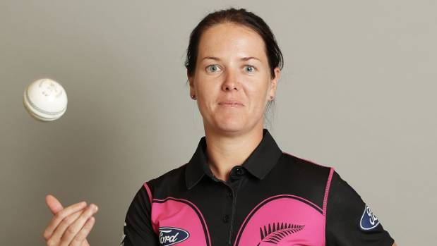 Like her team mates Erin Bermingham juggles her career in cricket with her other fulltime career, in the NZ Police force.