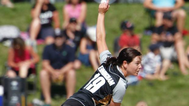 Erin Bermingham has been with the White Ferns since 2010.