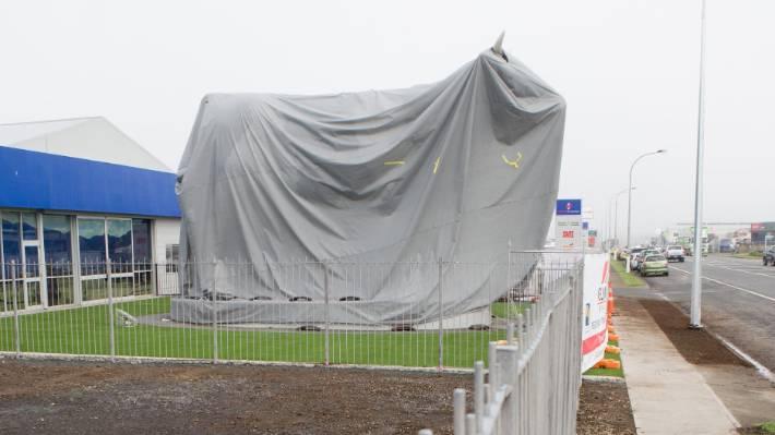 Morrinsville's Mega Cow will finally be revealed | Stuff co nz