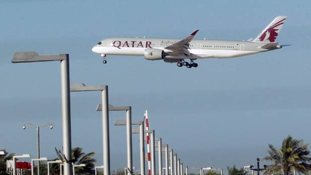 Qatar is barred from using the airspace and shipping lanes of Saudi Arabia, the United Arab Emirates, Egypt and Bahrain.