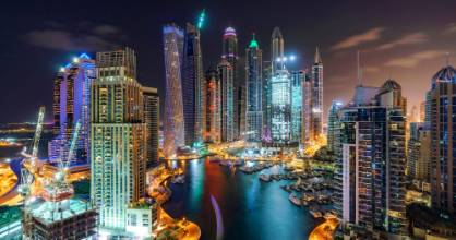 Dubai at night is spectacular. It's the biggest, the best and the most expensive of everything. Or is it?