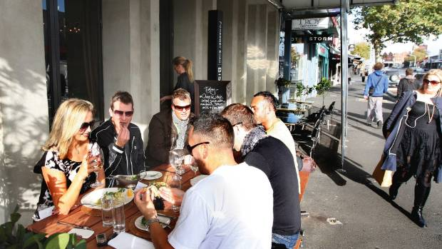 Ponsonby Road is still a hot spot for eating and drinking.