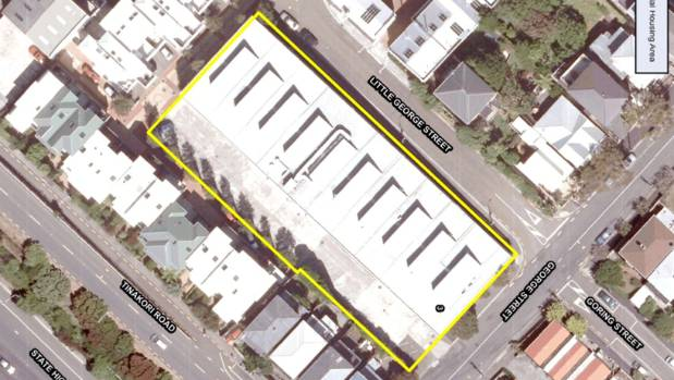 Wellington City Council approved a new Special Housing Area at 3 George St, Thorndon.