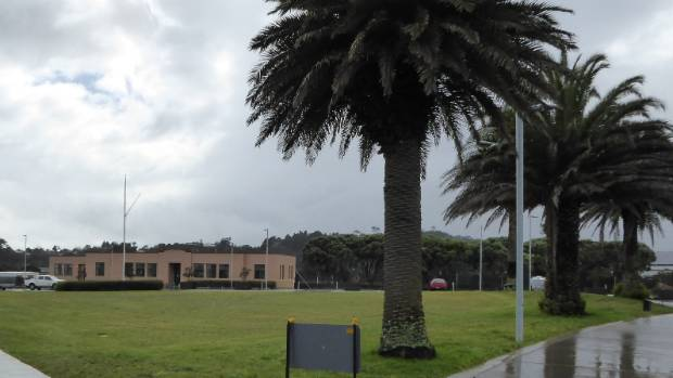 Former RNZAF Headquarters and parade ground in Hobsonville.