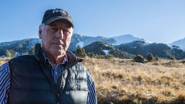 """""""We were never not going to open,"""" says ski field founder Doug Simpson."""
