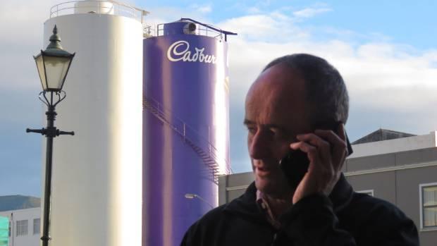 Jim O'Malley is trying to keep some Cadbury production in Dunedin.