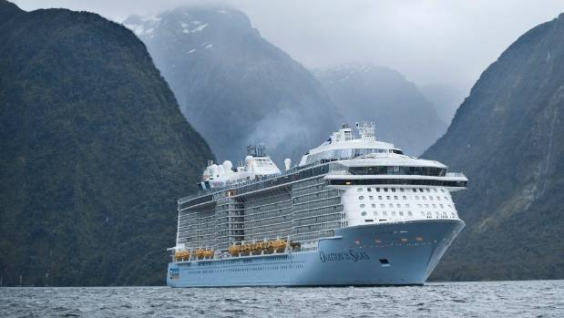 New Zealand cruises experienced the strongest growth, with passenger numbers up 177 per cent.