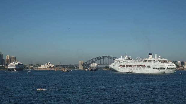 Fewer Kiwi cruises were lured to Australia last year, but it was still our fourth most popular destination.