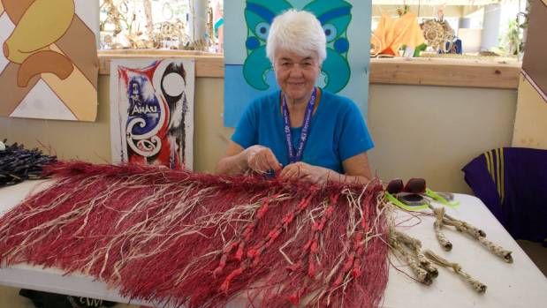 Weaver and sculptor Maureen Lander will be coming to the Dowse Art Museum  for the Matariki Rising event.