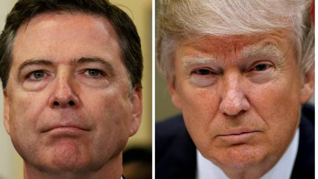 Trump has broken his silence about James Comey's testimony