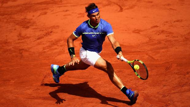 Rafa Nadal has dropped only 22 games total in five matches to reach the French Open semifinals.