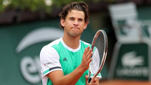 Austrian Thiem ousts Djokovic for Nadal test