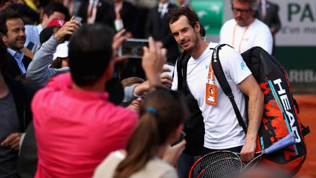 Andy Murray backed by legends to reach French Open final