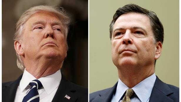 Trumps says he did not tape conversations with Comey
