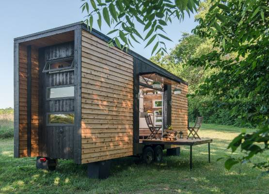 The Alpha Tiny House By New Frontier Homes CEO And Founder David Latimer Offers A