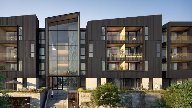 The Fabric of Onehunga, a brownfields project by Lamont & Co, is a 'pocket neighbourbood' development.