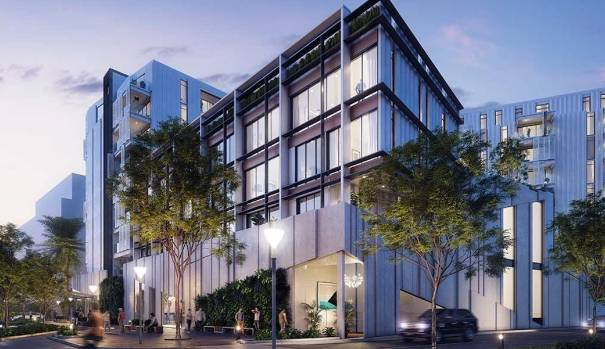 The Alexandra Park apartment development sold out while still under construction.