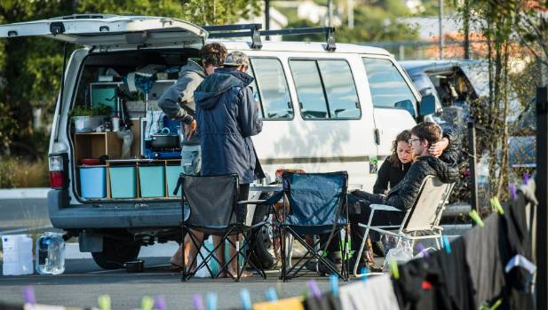 An estimated 100,000 overseas visitors went freedom camping at some stage last year, but it's unclear whether the trend ...