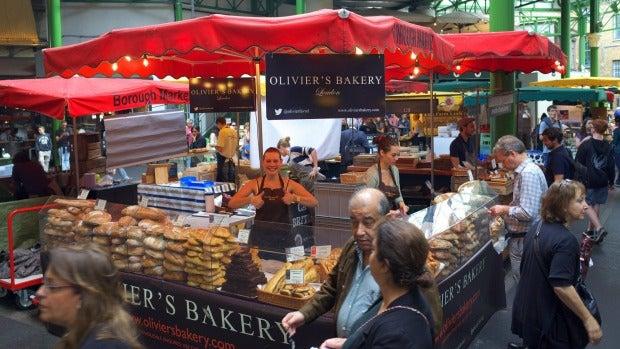 Borough Market in happier times.