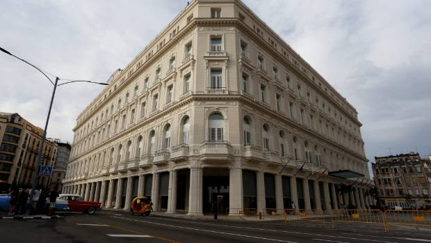 A renovated Belle Epoque shopping mall housing the Gran Hotel Manzana in the top floors and luxury stores on the ground ...