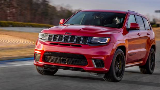 Trackhawk's supercharged 6.2-litre V8 will make the vehicle the quickest and most powerful production SUV on the planet.