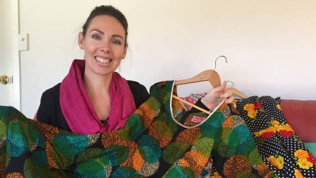 Holi Boli founder Ana Wilkinson-Gee with some of her company's designs.