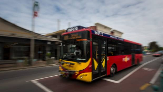 A mother is disappointed a Christchurch bus driver slammed the door in her daughter's face, separating her from her ...