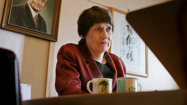 The 'bowl cut' worn by Helen Clark, pictured here in 2004, is on offer.
