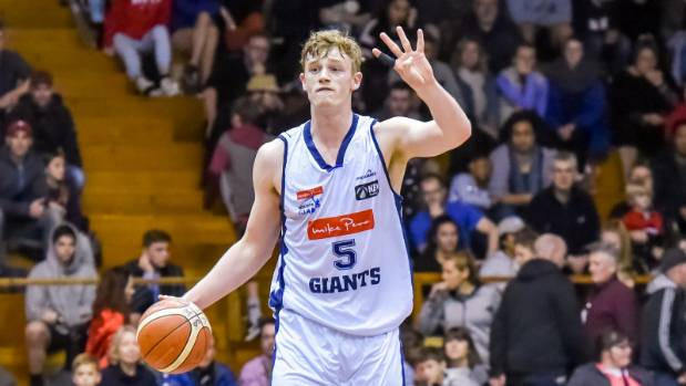 Nelson Giants forward Finn Delany scored a career-high 40 points in their 91-90 loss to the Canterbury Rams.