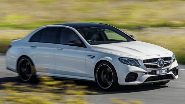 Latest Mercedes-AMG E 63. No tuners have got their hands on this one... yet.