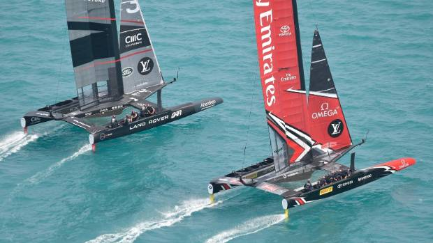 Team New Zealand's crash in America's Cup race called 'careless'; video