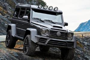 Mansory Gronos Black Desert adds off-road function to the feral performance and body addenda.