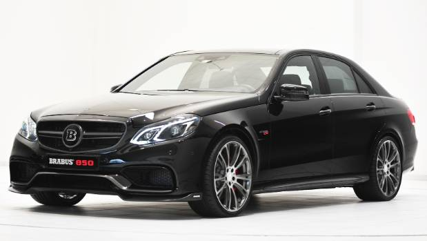 Brabus is almost as famous as Mercedes-AMG in Germany. This is the 850, with nearly 2000Nm of torque.