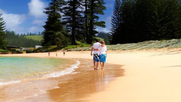 Emily Bay was named one of Australia's top 10 beaches by TripAdvisor earlier this year.