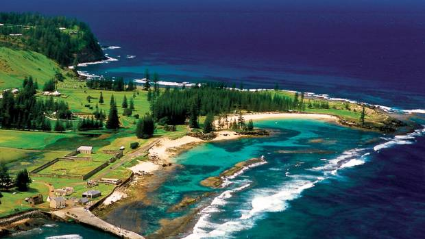 Norfolk Island: Where the air is so fresh you can buy tiny glass bottles of it at the Sunday market.