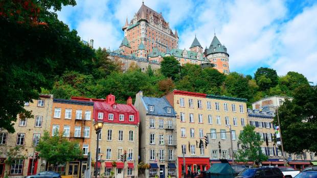 Quebec City has a charming European feel.