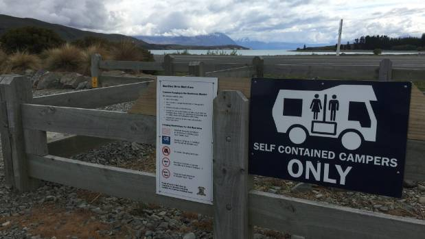 Areas like the Mackenzie District are clamping down on vehicles that don't have a useable toilet on board.
