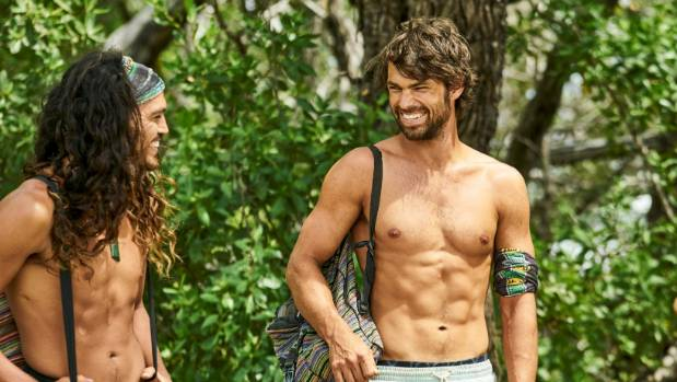 Leandro, left, didn't mind getting punted from Survivor.