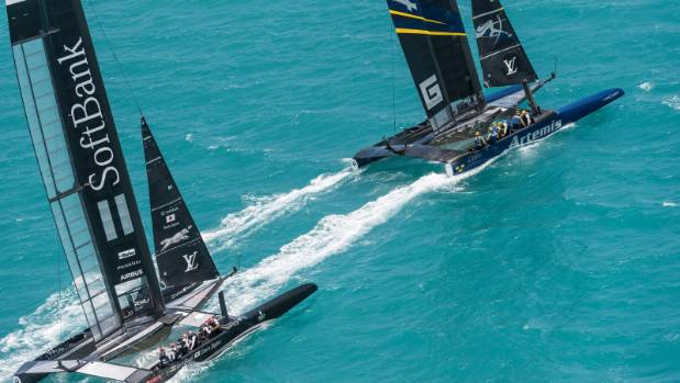 New Zealand suffer spectacular America's Cup capsize