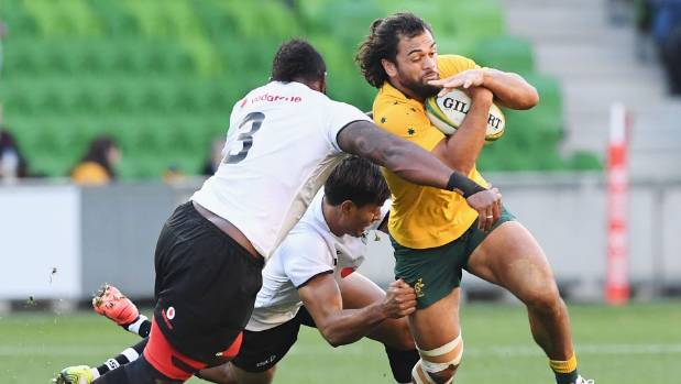 Folau and Hunt star in Wallabies' Fiji win