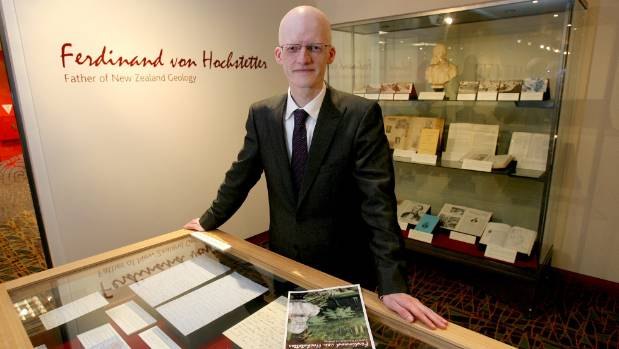 Dr Sascha Nolden was curating Auckland City Library's Hochstetter Exhibition when he rediscovered a 1859 diary. (File photo)