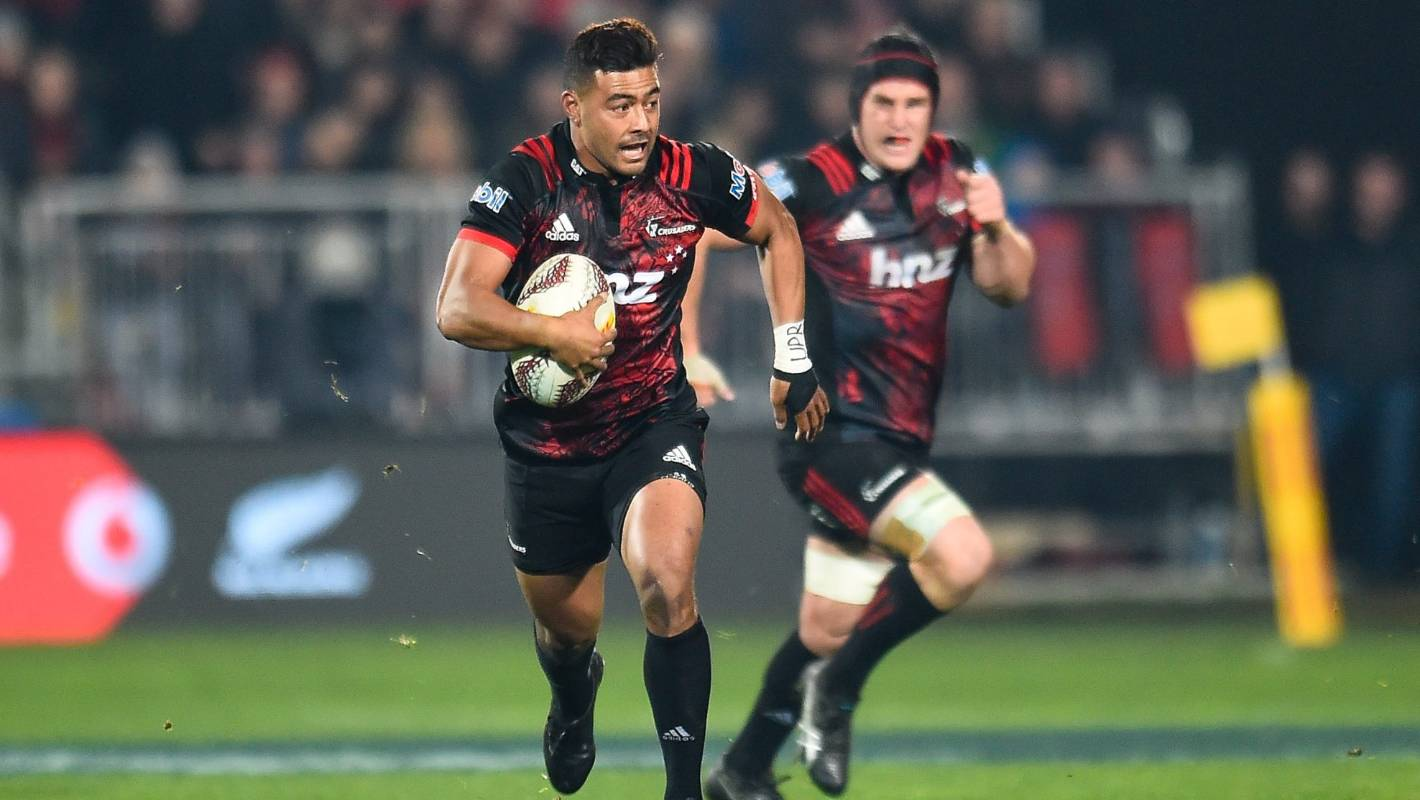 Lions tour: Crusaders first five-eighth Richie Mo'unga ...