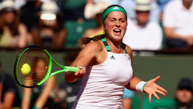 Ostapenko wins; Nadal vs. Wawrinka in final