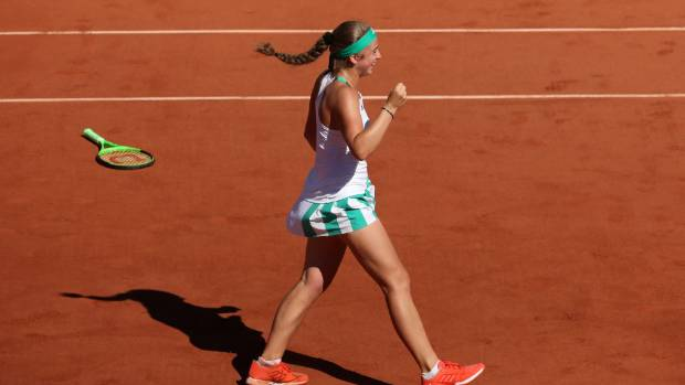 Jelena Ostapenko pulls off upset against Simona Halep to win French Open