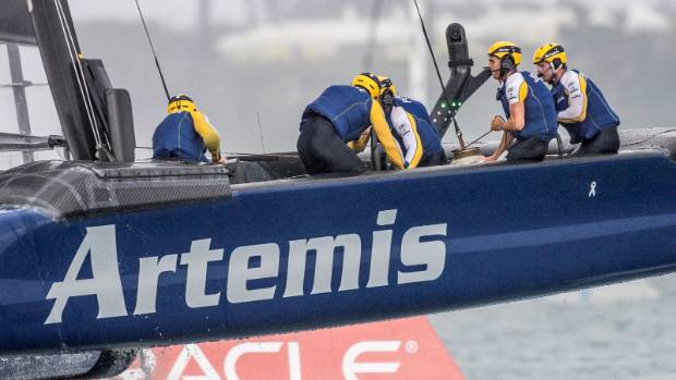 Sailing-New Zealand set up America's Cup US rematch with Sweden win
