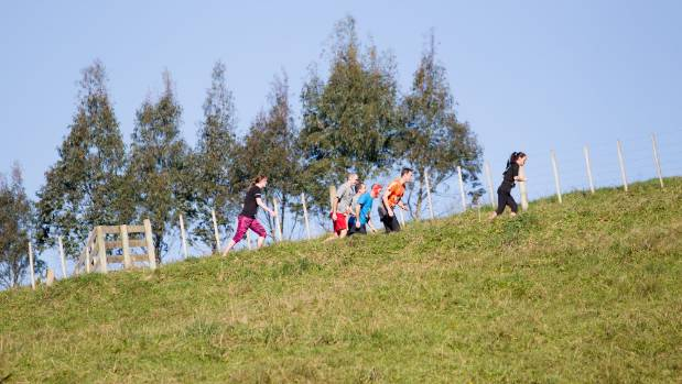 The course at Ngaruawahia Christian Camp is said to be one of the most physical.