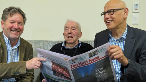 Simon Edwards, Ted Kerr and Tony Young. The trio have a continuous link to the very earliest years of the Hutt News. ...