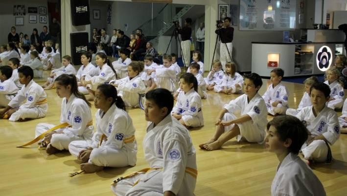 Wellington karate club giving children a fighting chance